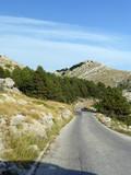 Die Straßezum Gipfel im Nationalpark Biokovo