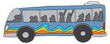 City Bus Public Transportation © John Takai