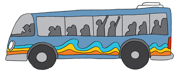City Bus Public Transportation © John Takai