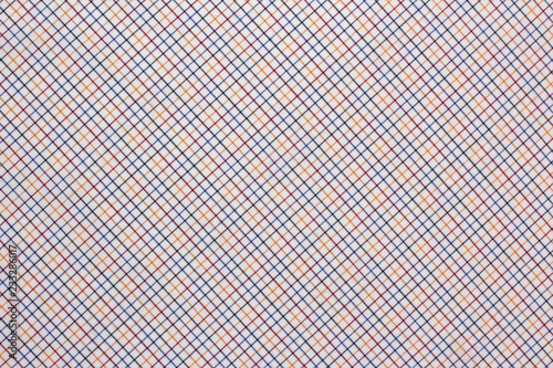 Texture cotton colored fabric. Background abstraction factory textile material close up. For tailoring.