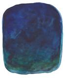 Abstract watercolor background - Indigo night - 233288049