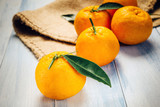 Composition of fresh mandarins