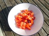 Tomaten würfeln