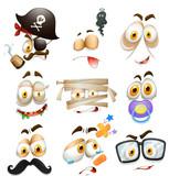 Set of facial expression - 233299284