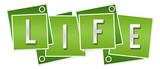 Life Green Squares Rings  - 233313633