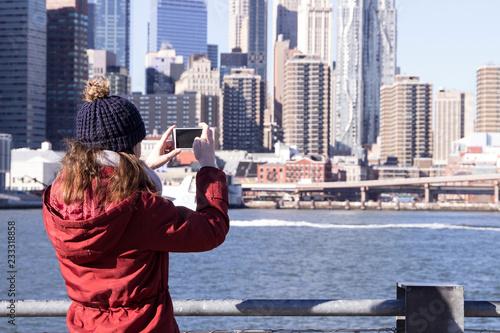 Foto Murales Tourist in New York