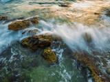 Piso Livadi beach on Paros island at sunrise - 233319284