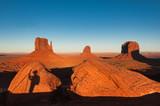 Photographer at monument valley, Arizona