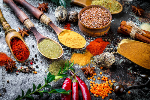 Spices and condiments for food