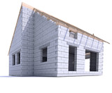 House construction ground view - 233347476