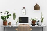 botanical studio - boho - urban jungle  - 233376074