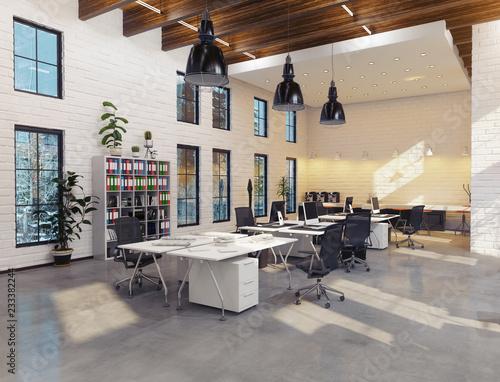 fototapeta na ścianę modern office