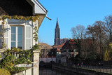 Strasbourg Cathedral viewd from