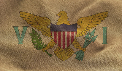 virgin islands US flag
