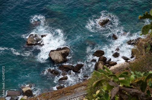 Foto Murales sea and rocks
