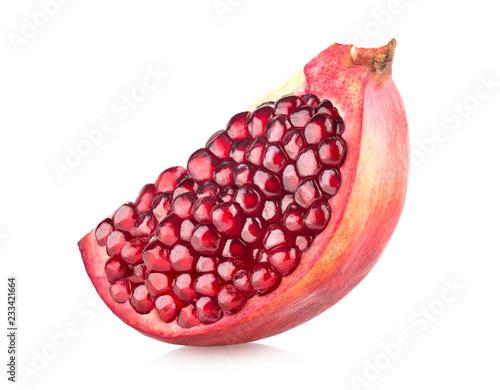 Foto Murales Pomegranate slice
