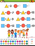 maths calculation educational game for children - 233426604
