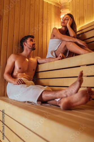 Leinwandbild Motiv Blissful relaxation