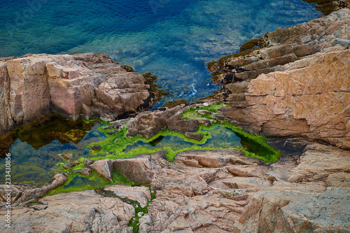 Foto Murales Tossa de mar in Catalonia, Spain.