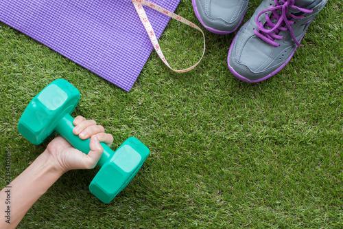 Zdrowie I Sprawności fizycznej pojęcie dla robi tłu