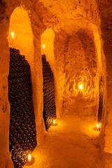 wine cellar in Moravia, Czech Republic