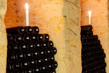 wine cellar in Moravia, Czech Repulic