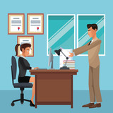 Executive business coworkers - 233455823