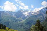 Природа в горах около горы Эльбрус