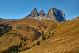 Dolomites, Italy, around the Sella massif