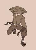 talented samurai waiting