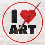 I love art design on wood grain texture - 233488032