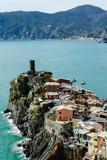 island in the sea, in cinque terre, Liguria, Italy