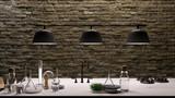 Moderne offene Wohnküche im Loft