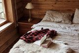 Cozy winter weekend in log cabin - 233559876