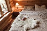 Cozy winter weekend in log cabin - 233559899