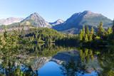 mountain lake in Tatras