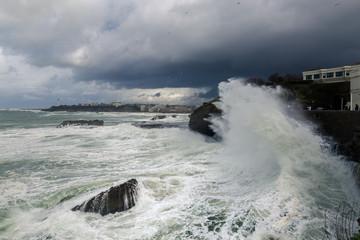 Vagues de tempête © Frederic