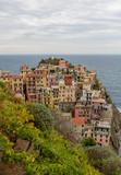 Vue de Manarola - Cinque Terre pres de La Spezia en Ligurie - Italie - 233592631