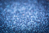 Glittering blue texture. New year background. - 233594692
