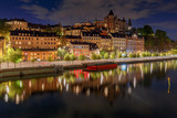 Stockholm. Houses on the waterfront. - 233596847