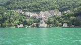 Enjoying view from boat in Como, Italy - 233634401