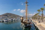 Cartagena Murcia Spain with ships in port  - 233635841