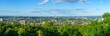 Panoramic view of the eastern part of Montreal