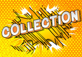 Collection - Vector illustrated comic book style phrase on abstract background. - 233676205