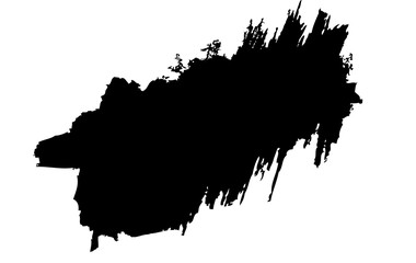 Grunge brush stroke background vector collection