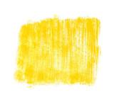 Schmutzige gemalte gelbe Pinselfläche als Hintergrund