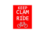 Keep Calm and Ride Bicycle - 233737631