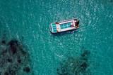 Maldives aerial view panorama landscape white sand beach - 233779270