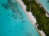 Maldives aerial view panorama landscape white sand beach - 233779277