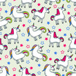 Unicorn background design - 233804449